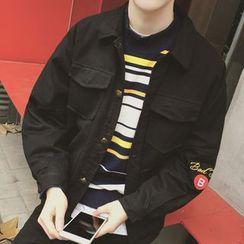 Weroni - Print Buttoned Jacket