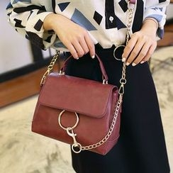 enoi - Chain Detail Shoulder Bag
