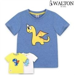 WALTON kids - Kids Round-Neck Printed T-Shirt