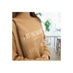 CHERRYKOKO - Dip-Back Lettering Sweatshirt