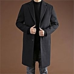 THE COVER - Notch-Lapel Single-Breasted Coat