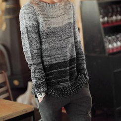 F.W.F - Gradient Melange Sweater