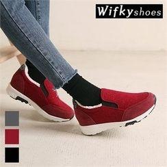 Wifky - Fleece-Lined Slip-Ons