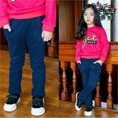 BILLY JEAN - Kids Brushed Fleece Lined Sweatpants