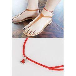 OZNARA - Embroidered Anklet