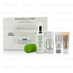 Sisley - Botanical D-Tox Detoxifying Discovery Program: Botanical D-Tox 30ml + Make-Up Remover 30ml + Mask 10ml + Pore Minimizer 10ml