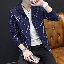 T for TOP - Printed Hooded Jacket