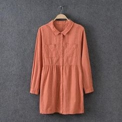 Rosadame - Eyelet Lace Shirtdress