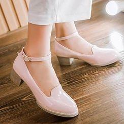 Tomma - 踝带高跟鞋