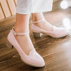 Tomma - 踝帶高跟鞋