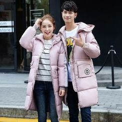 Evolu Fashion - Couple Matching Hooded Down Coat