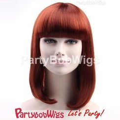 Party Wigs - PartyBobWigs - 派對BOB款中長假髮 - 綜色