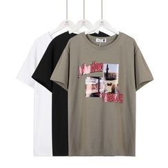 Momewear - Short-Sleeve Printed T-Shirt