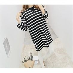 PEPER - Striped Long T-Shirt