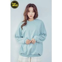 BONGJA SHOP - Loose-Fit Cotton Pullover