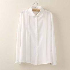 Tangi - Tie Neck Shirt