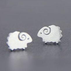 WOQIAO - Sterling Silver Sheep Earrings
