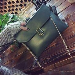 Velocia - Chain Strap Envelope Shoulder Bag