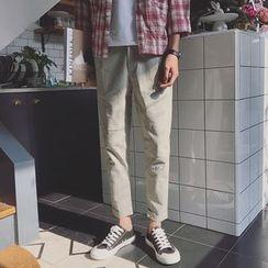 JUN.LEE - Slim Fit Pants