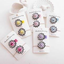 Chapa - Sun Flower Hair Clip Set
