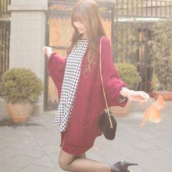 Tokyo Fashion - Dolman-Sleeve Disclosure Long Cardigan