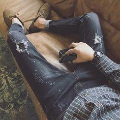 Streetstar - Ripped Slim Fit Jeans