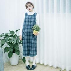 Grazia - 格紋背心裙