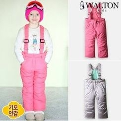 WALTON kids - Kids Detachable Suspender Padded Pants