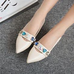 YOUIN - 寶石飾船跟樂福鞋