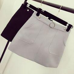 Honeydew - A-Line Skirt