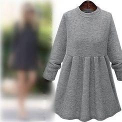 VIZZI - Fold Bottoming Dress