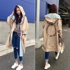 Windflower - Hooded Long Parka