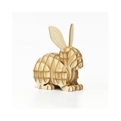 Team Green - 夾板立體 - 兔子拼圖