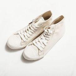 Ashen - 高筒帆布鞋