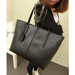 Crystal - Faux-Leather Tote