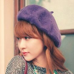 Pompabee - 羊毛混紡貝雷帽