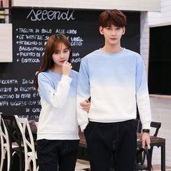 Evolu Fashion - Coupe Matching Gradient Sweatshirt