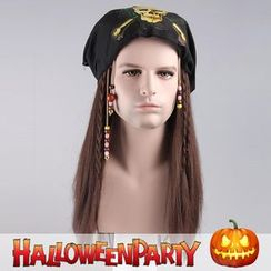 Party Wigs - Halloween Party Wigs - Pirate Johnny