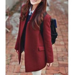 Sienne - Plain Woolen Jacket
