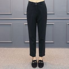 DANI LOVE - Straight-Cut Dress Pants