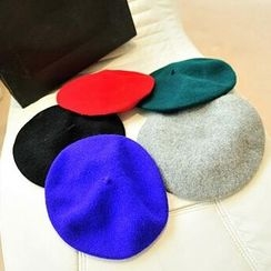 Jack Grace - Colored Wool Blend Beret