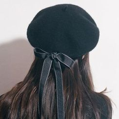 TAAK - Bow-Accent Beret