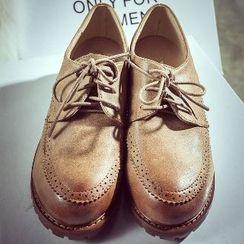 Mancienne - Heel Deck Shoes