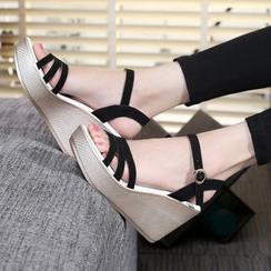 Hannah - Wedge Sandals