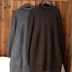tete - 長袖毛衣裙