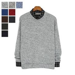 DANGOON - Brushed-Fleece Lined Knit Pullover