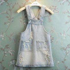 Kidora - 儿童牛仔背带连衣裙