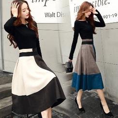 Romantica - Set: T-Shirt + Panel A-Line Skirt