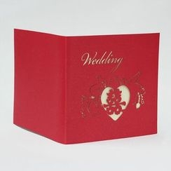 Paper House - Wedding Invitation Card