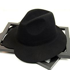 Hats 'n' Tales - Heart Shaped Wool Fedora Hat